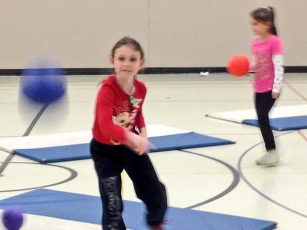 skpic dodge ball indoor recess