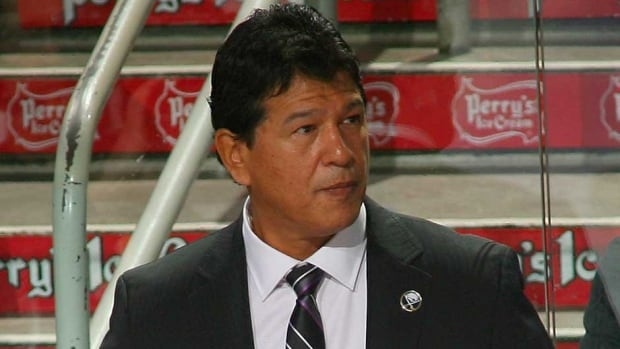 Ted Nolan is the head coach of the Latvia national men's hockey team, as well as the National Hockey League's Buffalo Sabres. He is also a member of the Garden River First Nation, near Sault Ste. Marie. He is now back for a second stint in Buffalo after being hired as the team's interim coach in November.