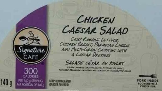 Three brands of Caesar salad have been recalled in British Columbia, Alberta, Saskatchewan, Manitoba and Ontario due to possible Listeria contamination.