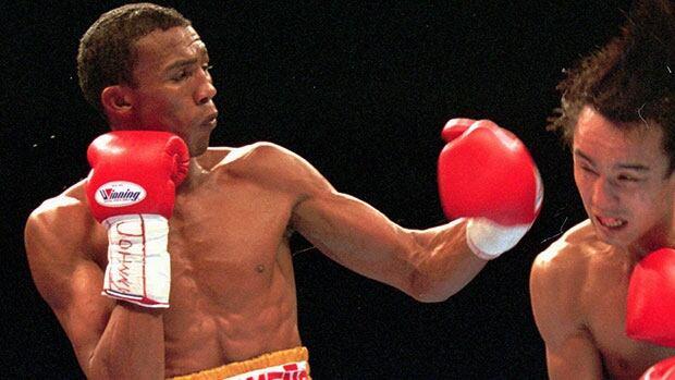 Venezuelan boxer Anotnio Cermeno, left, kidnapped Monday night near the La Urbina neighborhood in east Caracas.