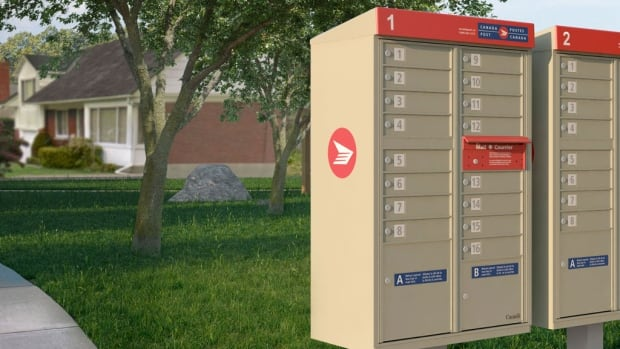 What Canada Post's community mailboxes will look like when they are implemented in neighbourhoods across the country, including in Winnipeg, starting this fall.