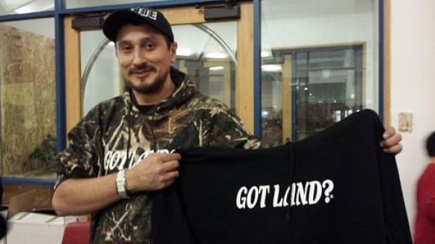 In January, demand for Jeff Menard's 'Got Land? Thank an Indian' clothes increased dramatically after Grade 8 student Tennelle Starr from the Star Blanket First Nation in Saskatchewan was told by school officials not wear her hoodie to school because it was offensive.