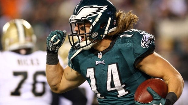Wide receiver Riley Cooper set career highs in receptions (47) yards receiving (835), and touchdowns (eight).