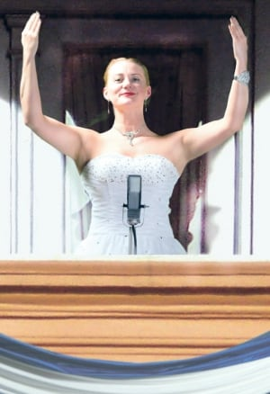 Kelly-Ann Evans as Evita Peron