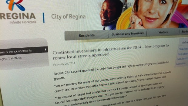 Regina was one of many communities in Saskatchewan where property tax hikes are higher than they have been in the past.