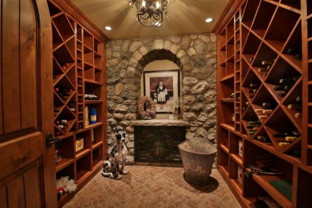 Priddis wine cellar