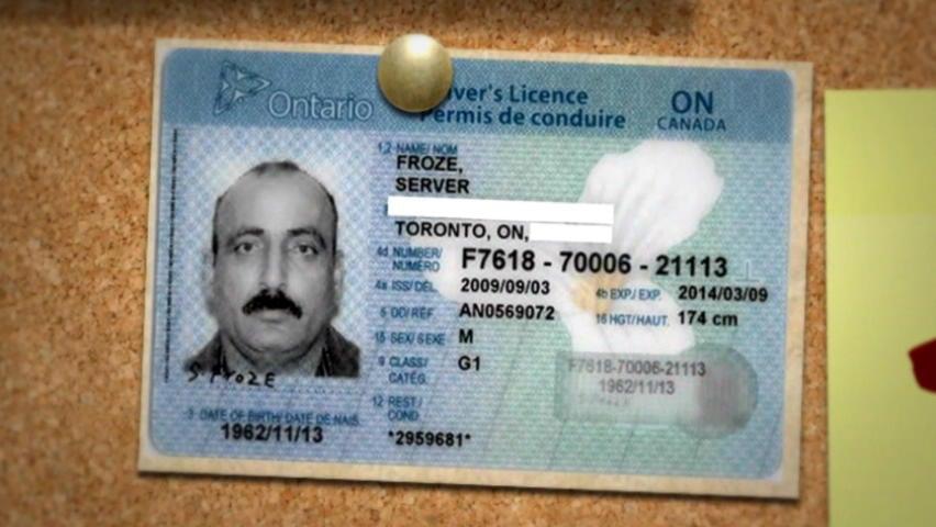 old ontario drivers license signature