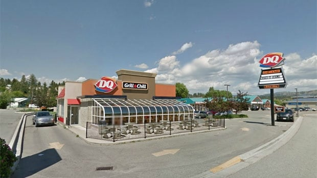 A man allegedly stabbed two women, then himself in the parking lot of this Princeton, B.C. Dairy Queen.