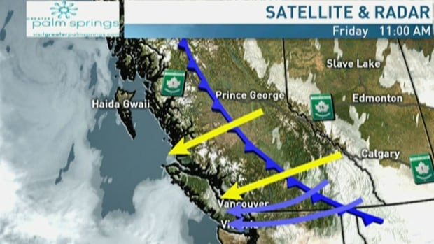 Snow expected to return to Metro Vancouver this weekend