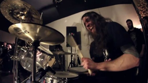 Nick Yacyshyn caught Dave Grohl's attention with his drumming on Baptists latest live video.