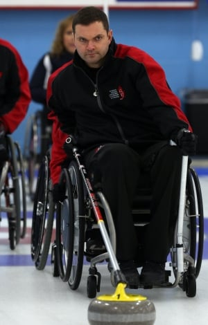 Mark Ideson, wheelchair curling