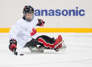 Karl Ludwig, sledge hockey