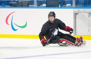 Adam Dixon, sledge hockey