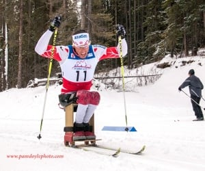Chris Klebl, para-nordic skier