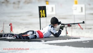 Caroline Bisson, biathlon