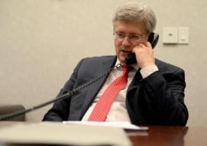 Harper on phone with interim Ukraine prime minister