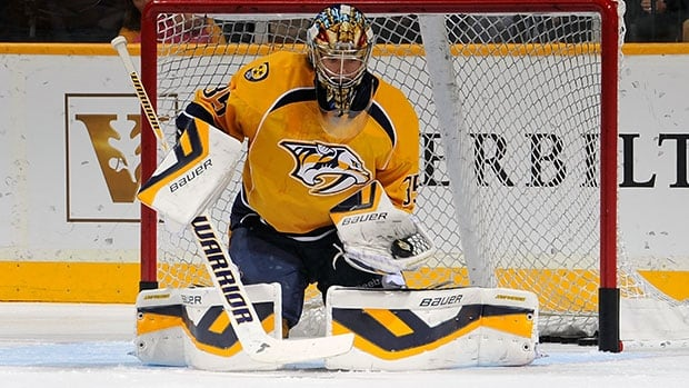 Pekka Rinne, a two-time Vezina Trophy finalist, has been recovering from an E. coli infection in his surgically repaired left hip.