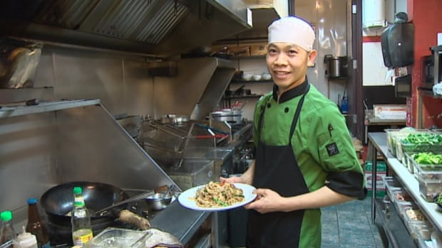 Aphinan Nochit moved to Halifax six years ago to work at Cha Baa Thai.