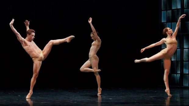 Les Grands Ballets Canadiens Montréal present Rodin/Claudel March 4 - 5, with choreography by Peter Quanz.