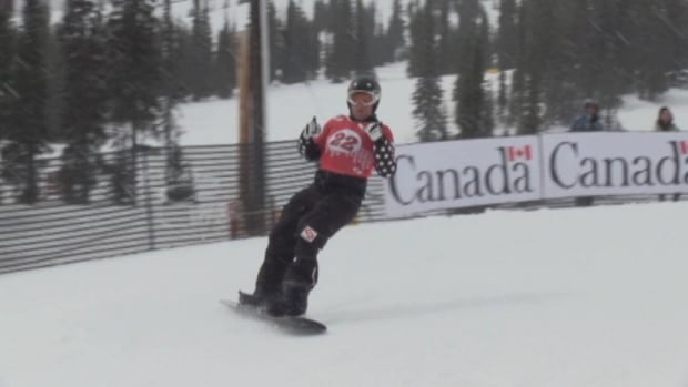 In his 20s, Tyler Mosher suffered a severe spinal cord injury in a snowboarding accident. With determination and grit he learned to walk again. He now has 60 per cent use of his legs.