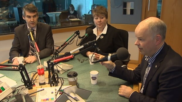 Nova Scotia's three political leaders told CBC they are working out how best to move forward with the Ivany report.