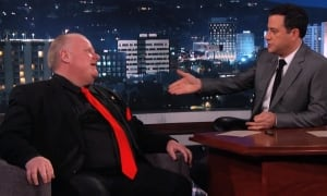 Ford on Kimmel