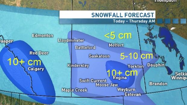 Regina weather turning nasty