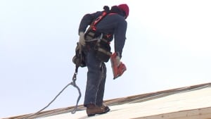 Roofer Andrew Winsor
