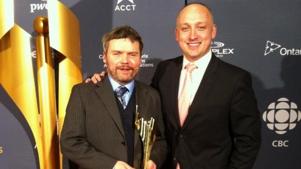CBC Newfoundland and Labrador's Paul Pickett and David Cochrane won a Canadian Screen Award for their investigative piece, Inside Operation Roadrunner.