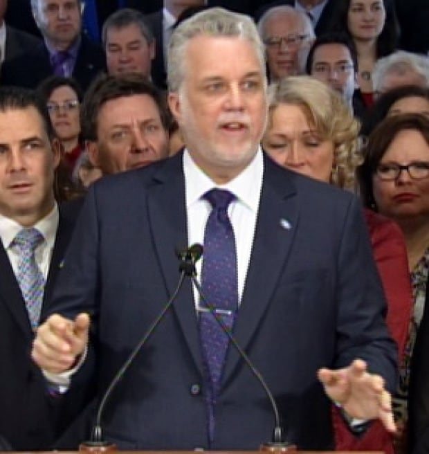 philippe couillard election launch