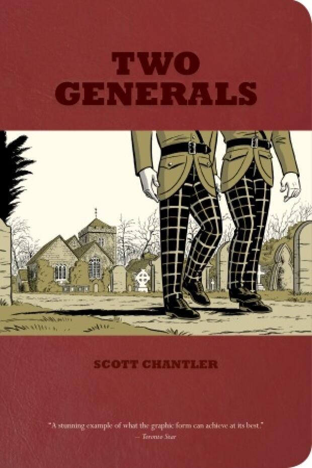 Scott Chantler Two Generals Cover