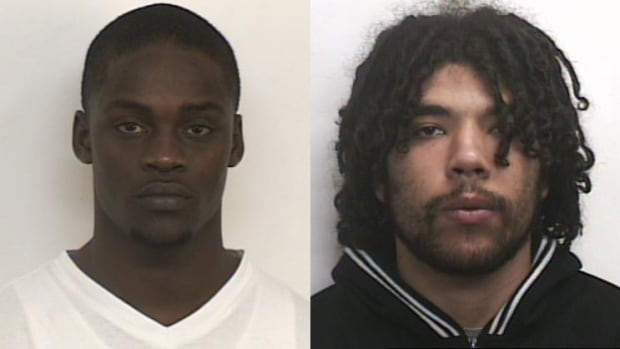 Police issued an Atlantic Region-wide warrant for the arrest of Robert Roech Chan (left) and Daniel Angus Ryan, both of Halifax, in relation to an alleged abduction over the weekend.