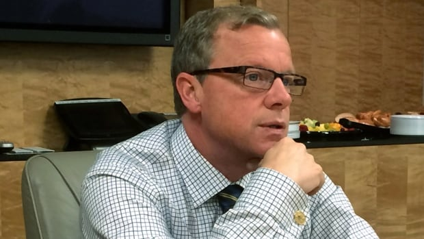 Saskatchewan Premier Brad Wall has been in Washington, DC this week talking to U.S. lawmakers about the Keystone XL pipeline and held a round-table with journalists Wednesday.