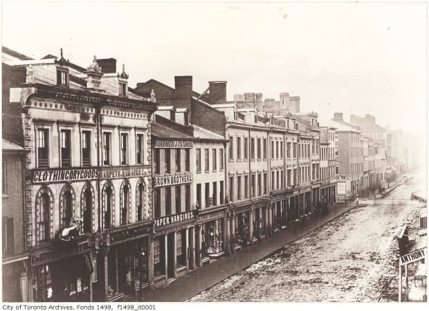King Street West in 1856