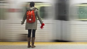 Woman St. George Subway