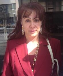 Eve Stewart in court