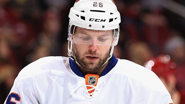 Thomas Vanek was acquired by Montreal from the Islanders in a deal made just ahead of the NHL's trade deadline.