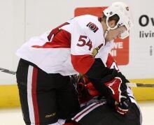 NHL Ottawa Chicago Rookies TOPIX