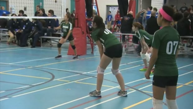 The volleyball team from Northwest River was disqualified from competing at the 2014 Winter Games in Clarenville because they were two people short of the required number of teammates.