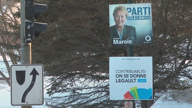 The average Canadian is bombarded with 3,500 media messages a day. In Quebec, election ads are now part of that mix.