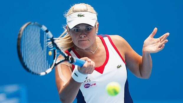Aleksandra Wozniak of Blainville, Que., routed Urszula Radwanska 6-2, 6-0 on Thursday in Indian Wells, Calif.