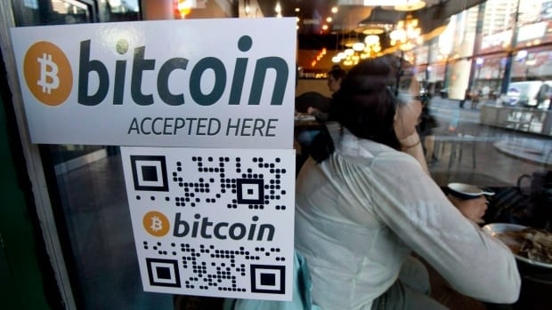 Some Canadian businesses, including this Vancouver coffee shop, accept bitcoins as payment.