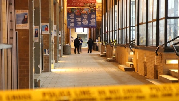 Toronto's York University was on lockdown following a Thursday night shooting at the campus student centre. The lockdown was lifted shortly after 1 a.m. ET on Friday.