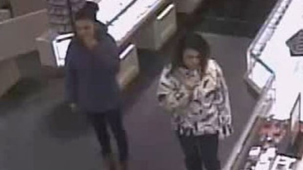 RCMP seek public's help locating two suspects after a diamond ring was stolen from Crescent Gold and Diamonds at Champlain Place in Dieppe.