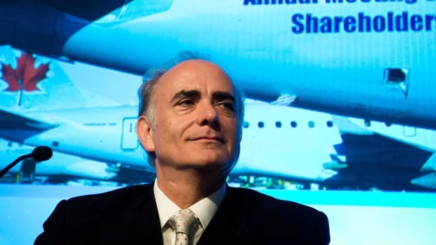 Air Canada CEO Calin Rovinescu has pledged to cut costs at the airline and says fare hikes and new fees might be necessary because of the falling loonie.