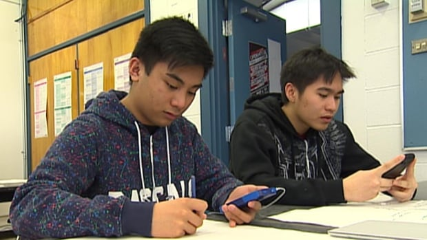 At Sisler High School in Winnipeg, students are taught how much privacy they're giving up when they go on social media sites such as Facebook.
