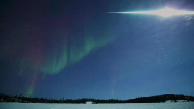 Photographer Yuichi Takasaka shot this amazing photo of the fireball in Yellowknife on March 7.