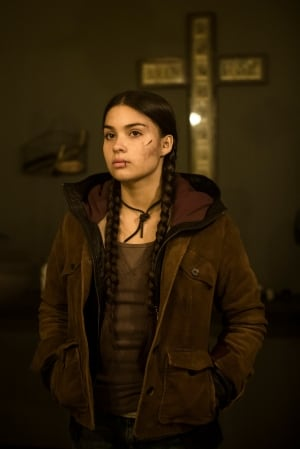 "Devery Jacobs in ""Rhymes For Young Ghouls"""