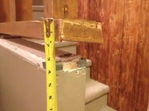 McVicker house damage