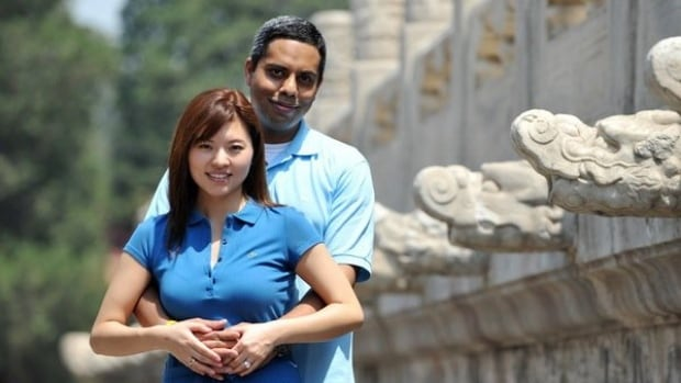 The two Canadians listed as passengers on a missing Malaysia Airlines flight from Kuala Lumpur to Beijing are former Montreal resident Muktesh Mukherjee, 42, and his wife, Bai Xiaomo, 37.